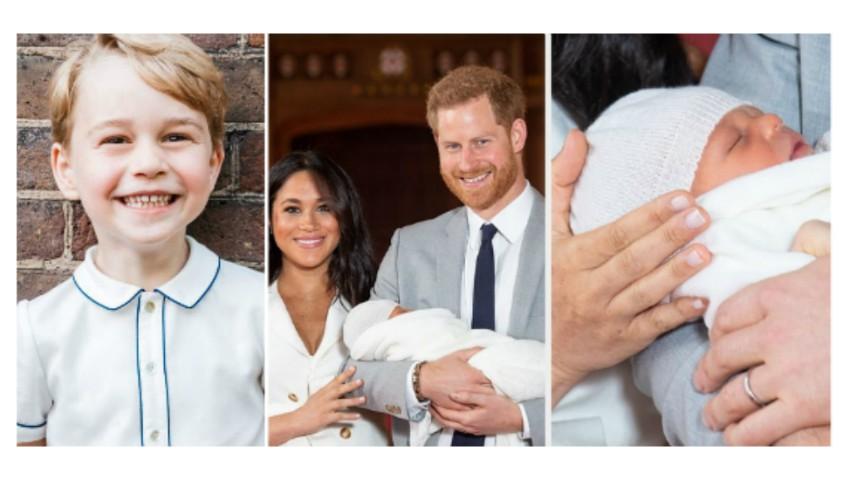 Foto: Prințul George a dezvăluit numele verișorului său, încă acum trei luni!