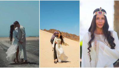 Irina Tarasiuc și Serghey Kovalsky au filmat un videoclip în Egipt! Video