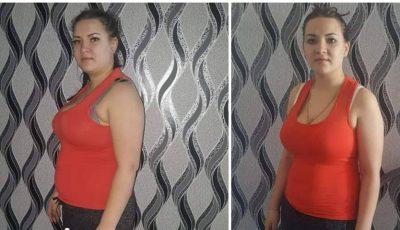 Motivație și determinare: A slăbit 15 kg în trei luni!