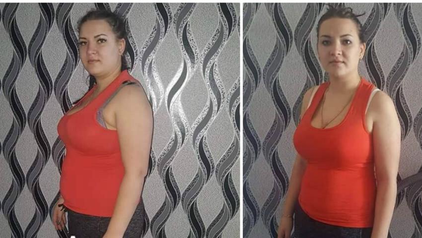 Foto: Motivație și determinare: A slăbit 15 kg în trei luni!