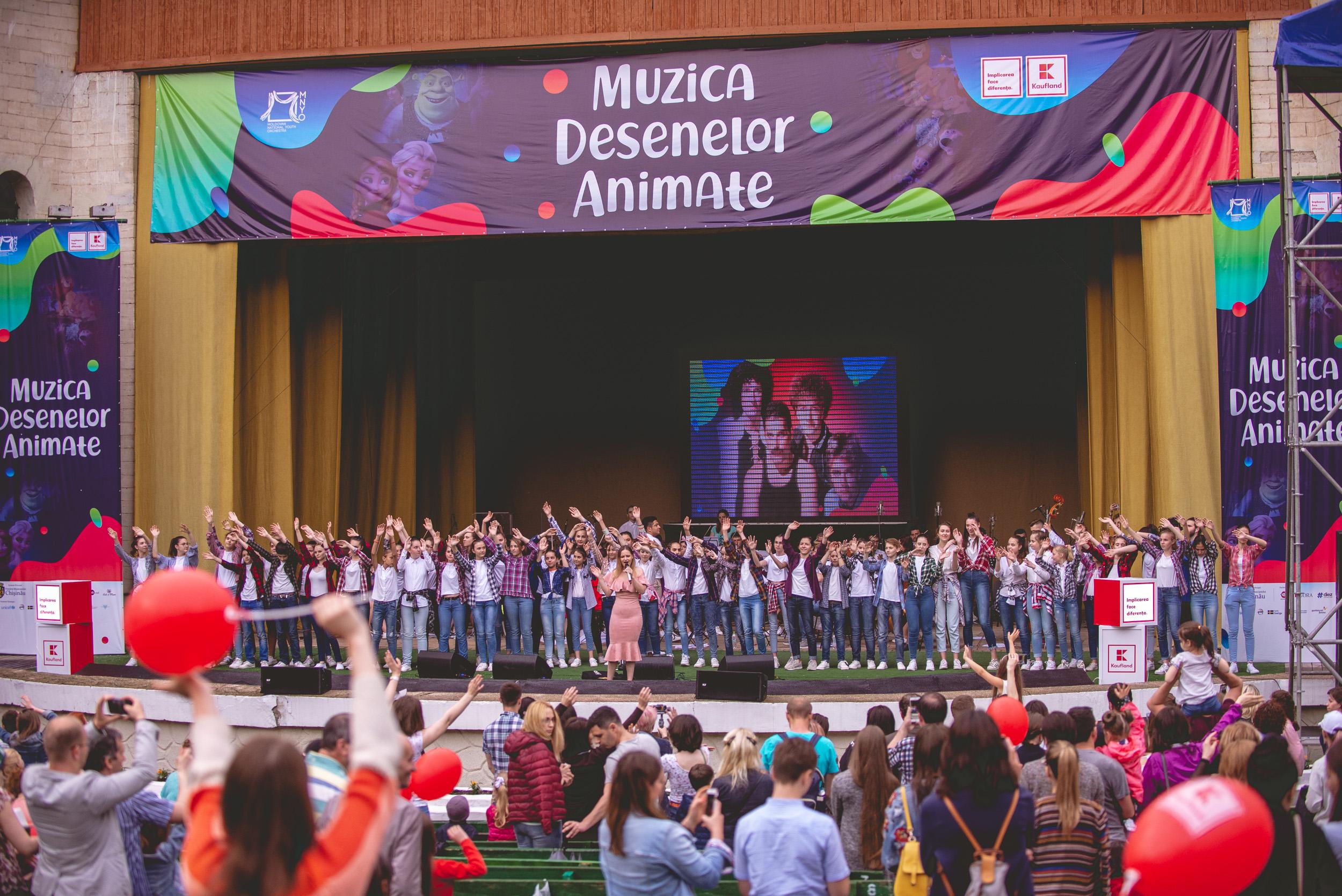 Cum a fost atmosfera la Muzica Desenelor Animate: de la Maria Mirabela și până la Frozen