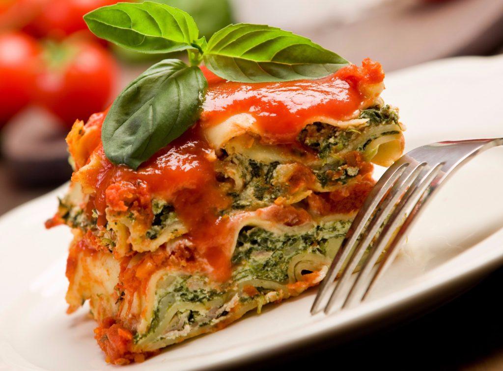 Lasagna cu spanac, rețetă de sezon!