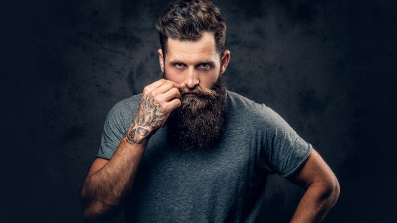 Foto: În barbă se ascund mai multe bacterii decât la câini