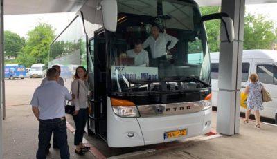 A fost lansată prima cursă de transport de pasageri Chișinău-Milano