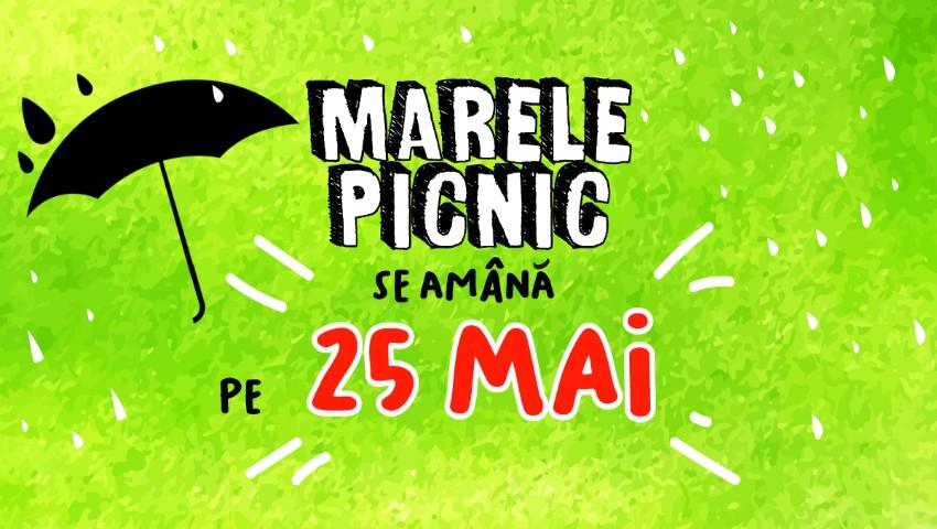 Foto: Marele Picnic cu trupa TAXI SE AMÂNĂ pentru sfârșitul lunii mai