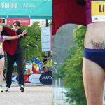 Foto: Tatuajul unei sportive din Moldova a creat senzație la maratonul din Karlovy Vary