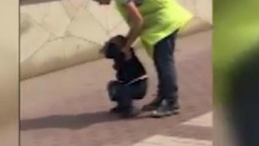 Foto: Un copil a fost bătut cu picioarele, de către mama sa. Oamenii legii s-au autosesizat