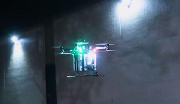Foto: Primul organ uman transportat cu ajutorul unei drone