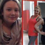 Foto: A dat dovadă de curaj și voință! Cristina a slăbit 16 kg, după 2 luni de antrenamente