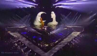 Video! Anna Odobescu a cântat pe scena Eurovision 2019! Vezi prestația artistei