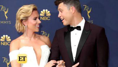 Scarlett Johansson și Colin Jost s-au logodit!