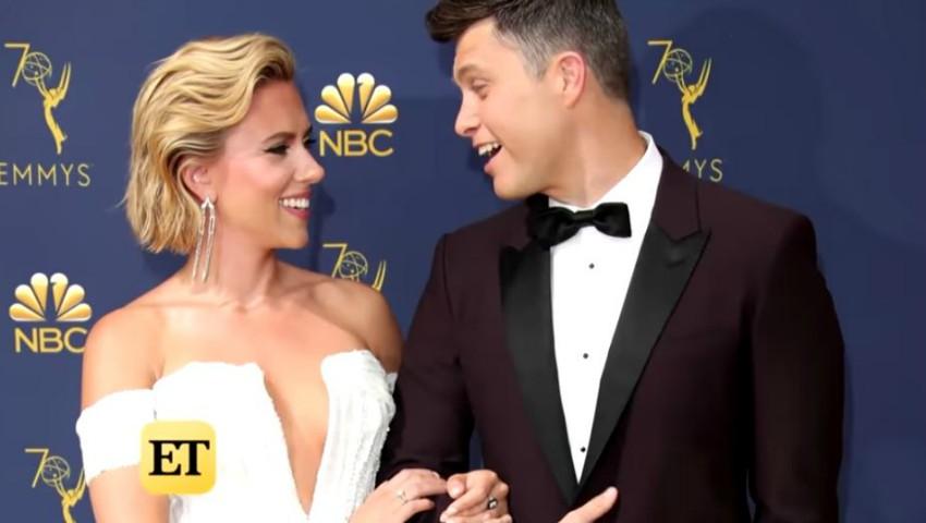 Foto: Scarlett Johansson și Colin Jost s-au logodit!