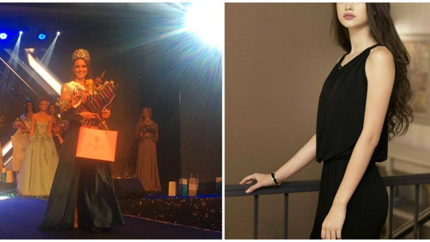 """Foto: Ea este câștigătoarea concursului ,,Miss Moldova"""" 2019!"""