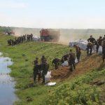Foto: Risc de inundații, marți, în raionul Ștefan Vodă. Salvatorii au intervenit în forță