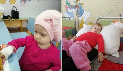 La doar 1 anișor, Adelina suferă de cancer. Să o ajutăm împreună!
