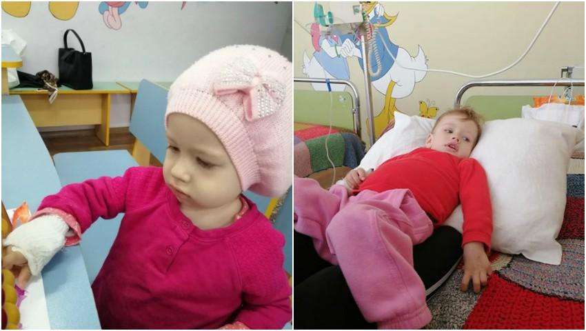 Foto: La doar 1 anișor, Adelina suferă de cancer. Să o ajutăm împreună!