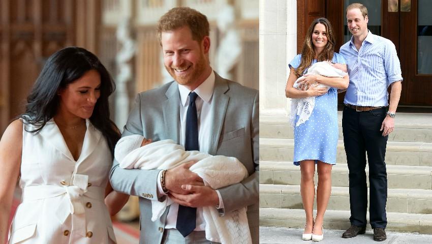 Foto: Fizicul lui Meghan a fost comparat cu cel al lui Kate, după naștere