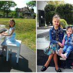 Foto: Bucurie mare în familia pianistei Catherine de Caraman. Cele trei surioare vor avea un frățior!