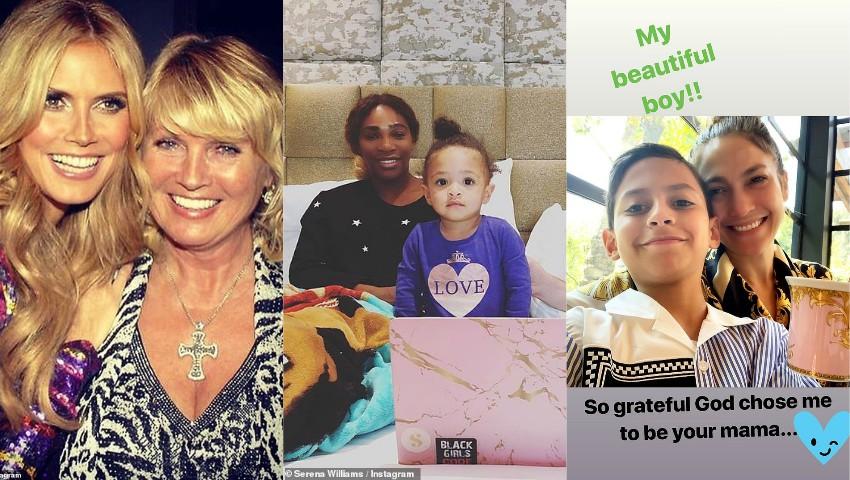Foto: Cum au sărbătorit vedetele Ziua Mamei?