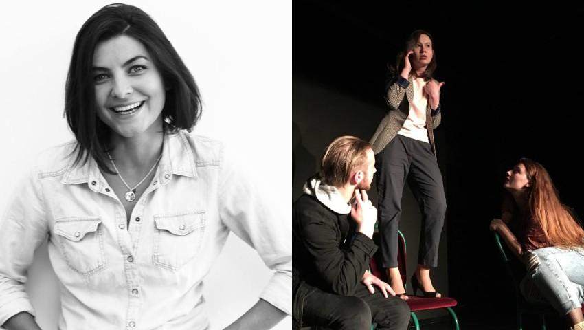 Foto: Olesea Sveclă revine cu un nou spectacol, în calitate de regizoare! Să mergem la teatru!