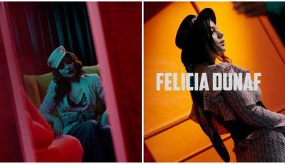 O piesă, ca un roman de dragoste! Felicia Dunaf a lansat noul ei videoclip, în regia lui Roman Burlaca