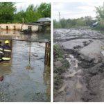 Foto: Ploile au făcut dezastru în mai multe localități din țară. Foto