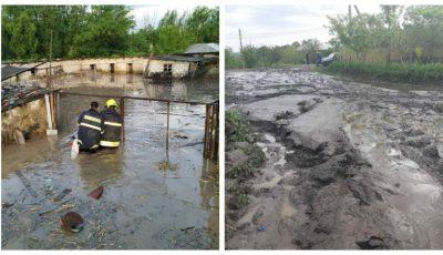 Ploile au făcut dezastru în mai multe localități din țară. Foto