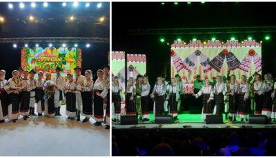 """Ansamblul ,,Crenguța de Iederă"""", condus de interpreta Maria Iliuț, a susținut un concert spectaculos la Chișinău!"""