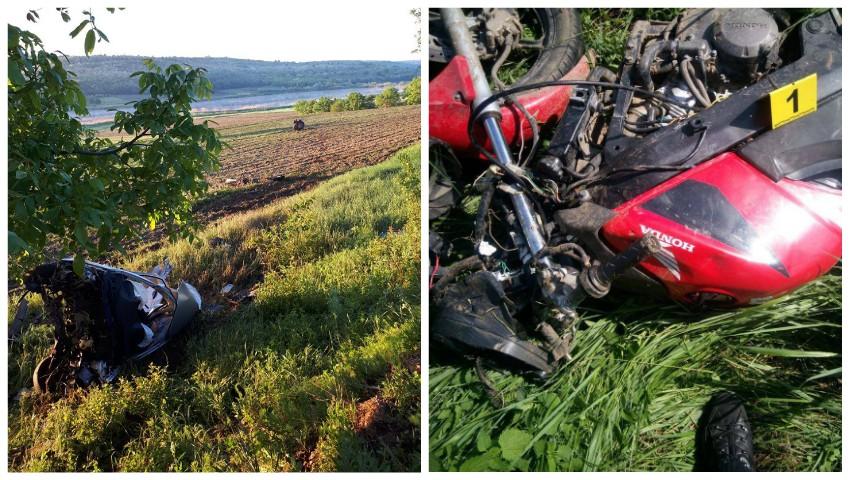 Foto: Doi tineri, de 18 și 22 de ani, și-au pierdut viața în două accidente rutiere