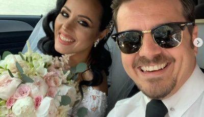 Mihai Petre, la nunta surorii sale! Dansatoarea de performanță a îmbrăcat rochia de mireasă
