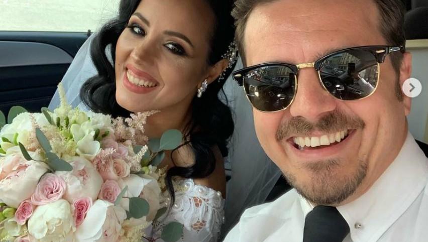 Foto: Mihai Petre, la nunta surorii sale! Dansatoarea de performanță a îmbrăcat rochia de mireasă