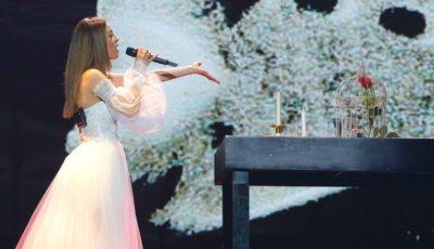 Video! Eurovision 2019: Anna Odobescu a urcat în scenă, în cadrul primelor repetiții pentru concurs