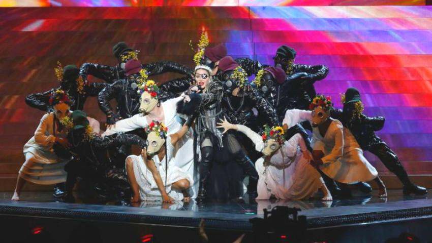 Foto: Madonna a făcut revoluție la Eurovision! Gesturile pentru care a fost lăudată