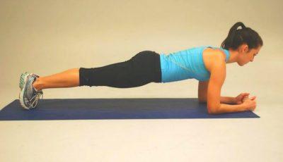 Video. O moldoveancă stabilită în SUA a bătut recordul mondial la planking