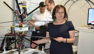 Moldoveanca din Jora de Mijloc, care a ajuns să gestioneze o afacere cu drone în Franța