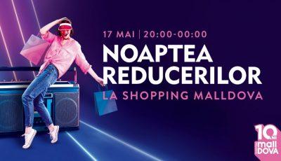 Averse puternice de prețuri reduse, pe 17 mai, la Shopping MallDova