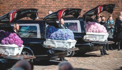 Miliardarul danez Anders Holch Povlsen și-a înmormântat cei 3 copii uciși în atentatele din Sri Lanka. Imagini sfâșietoare