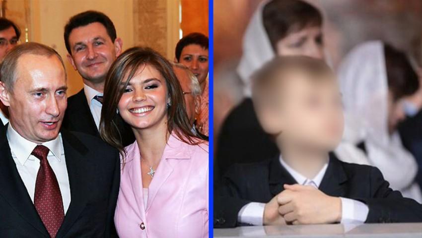 Foto: Fiul gimnastei Alina Kabaeva ar semănă leit cu actualul președinte rus