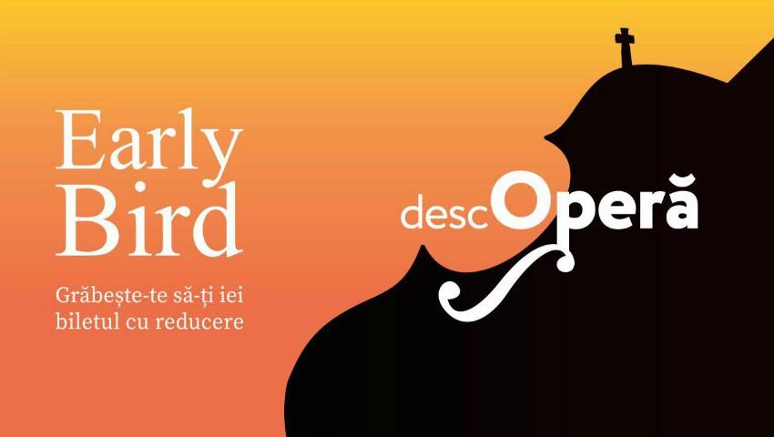 Foto: Festivalul DescOperă: doar încă două zile, ai șansa să obții bilete cu reducere la spectacolul Elixirul Dragostei, în interpretarea renumitei soprane Valentina Naforniță!