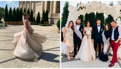 Poze și imagini video de la nunta interpretei Tatiana Spînu! Vezi cine le-au fost alături mirilor în cea mai frumoasă zi din viața lor