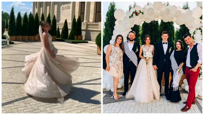 Foto: Poze și imagini video de la nunta interpretei Tatiana Spînu! Vezi cine le-au fost alături mirilor în cea mai frumoasă zi din viața lor