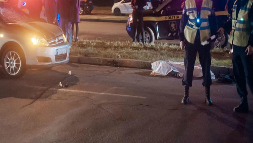 Foto: Un tânăr a fost lovit mortal pe bulevardul Dacia