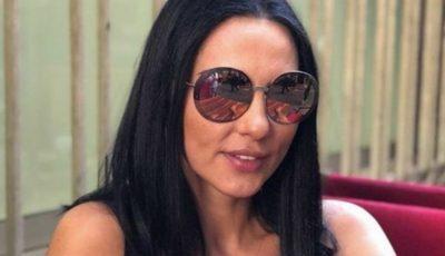Ce curte luxoasă are Ștefan Bănică! Iată cum se relaxează Lavinia Pârva la piscină