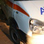 Foto: Un bărbat de 32 de ani a fost lovit mortal de către o ambulanță
