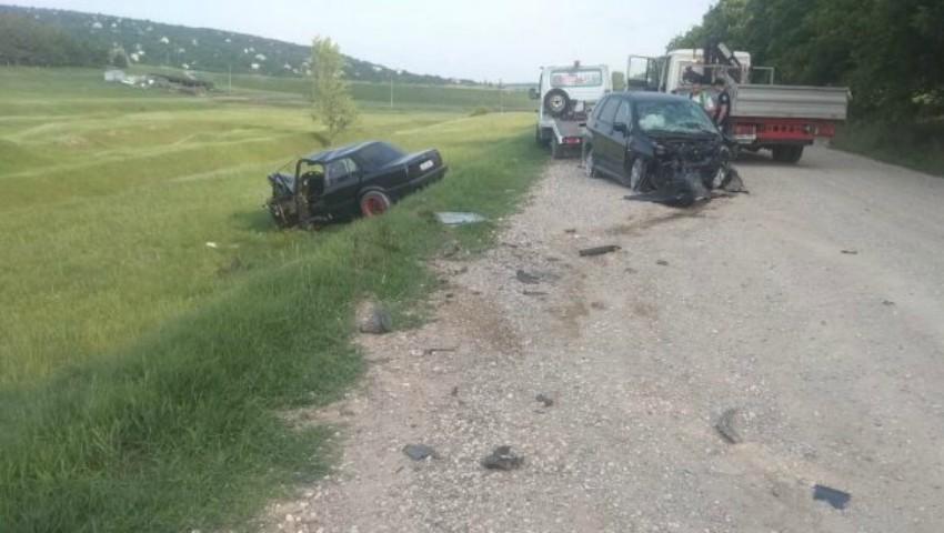 Foto: Grav accident la Anenii Noi: o tânără de 27 de ani s-a stins pe loc, din cauza unui șofer băut