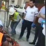 Foto: Un moldovean, tată a doi copii mici, a căzut în gol la un șantier din Israel