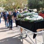 Foto: Zeci de oameni au venit la funeraliile moldoveanului accidentat mortal pe un șantier de construcții din Israel