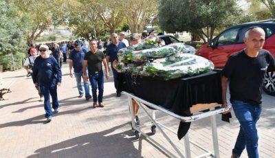 Zeci de oameni au venit la funeraliile moldoveanului accidentat mortal pe un șantier de construcții din Israel