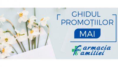 Ultima lună de primăvară vine cu reduceri mari la produsele dermato-cosmetice, inclusiv cele cu protecție solară!