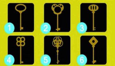 Testul cheii nu minte! Alege o cheie și descoperă personalitatea ta ascunsă!